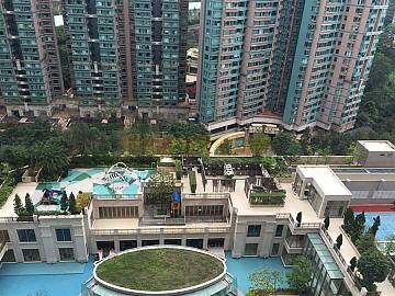 銀湖天峰 東南內園池景