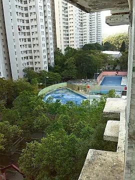富安花園    包補地價內園池景