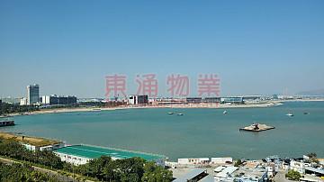 藍天海岸 水藍天岸 2房, 齊傢電,機場海景